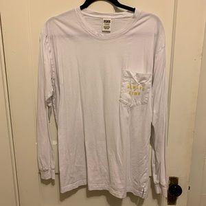 "Victoria's Secret PINK ""always down"" campus tee"